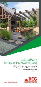 Die Titelseite des Flyers GaLaBau zum kostenlosen Download.