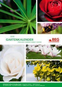 Die Titelseite des GaLaBau - Gartenkalender.
