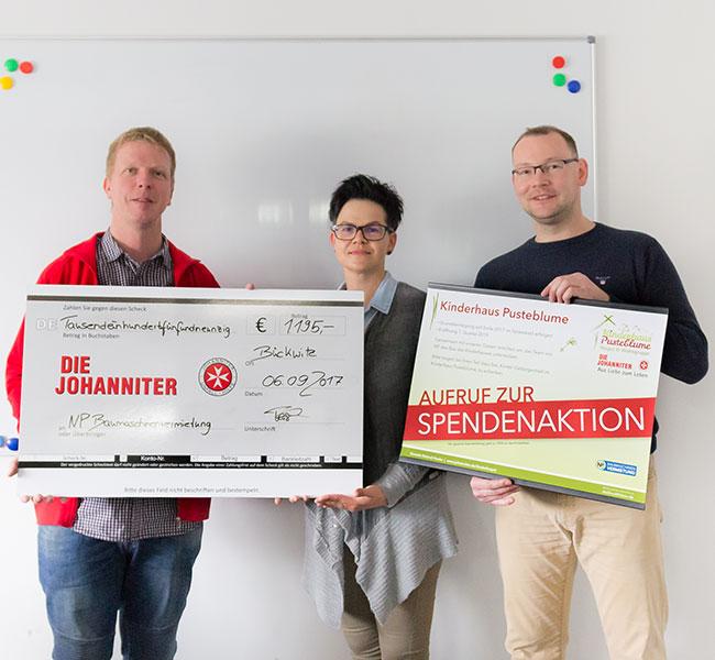 News - Spendenaktion für die Johanniter.