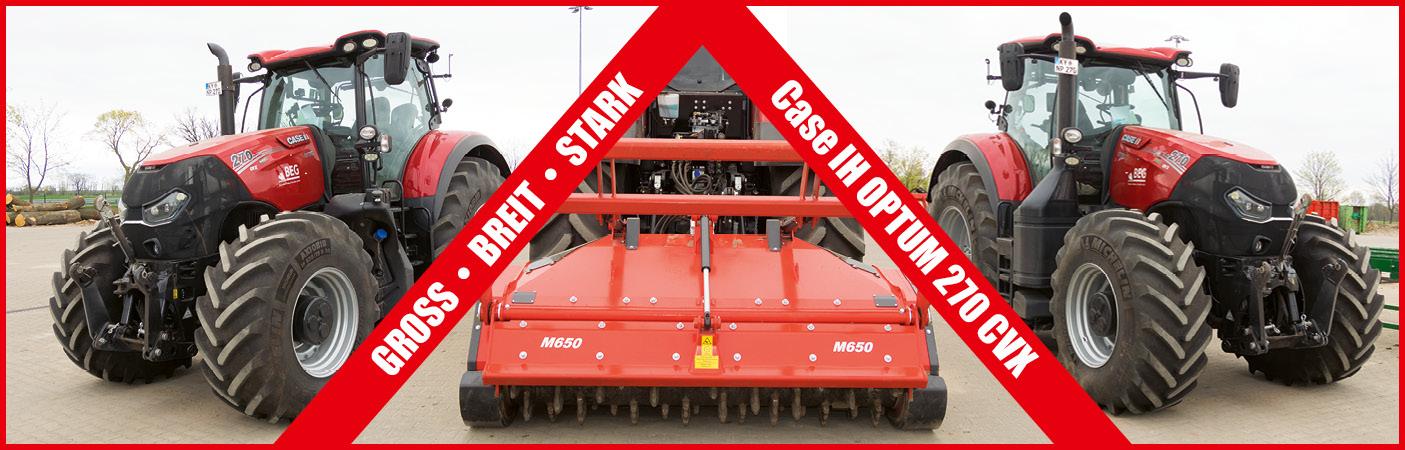 Unser neuer Traktor - Der Case IH OPTUM 270 CVX